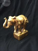 Goldener Elefant